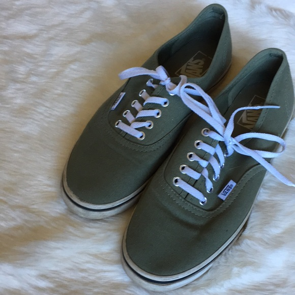 Vans Shoes | Classic Lace Up Sneakers